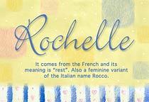 Name Rochelle