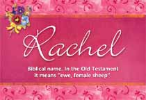 Name Rachel
