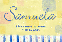 Name Samuela