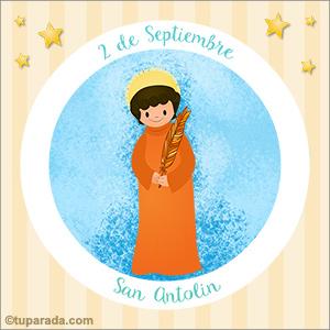 Día de San Antolín, 2 de septiembre
