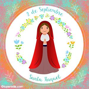 Tarjeta de El Santo del Día, Santoral