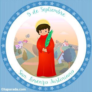 Día de San Lorenzo Justiniano, 5 de septiembre