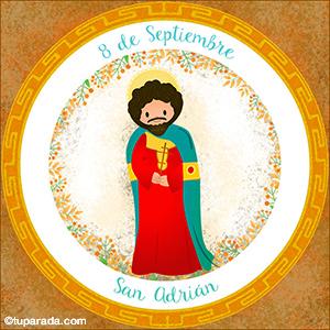 Día de San Adrián, 8 de septiembre