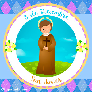 Día de San Javier, 3 de diciembre