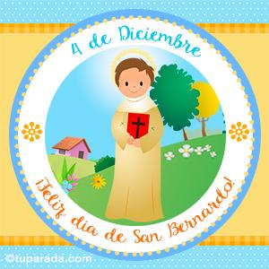 Día de San Bernardo, 4 de diciembre