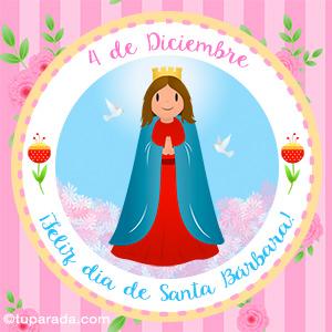 Día de Santa Bárbara, 4 de diciembre