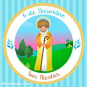 Día de San Nicolás, 6 de diciembre
