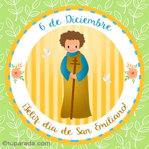 Día de San Emiliano, 6 de diciembre