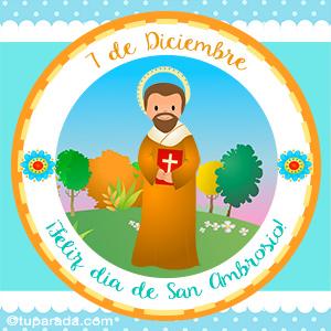 Día de San Ambrosio, 7 de diciembre