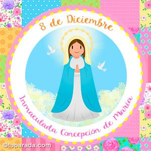 Día de la Inmaculada Concepción de María, 8 de diciembre