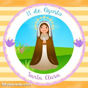 Día de Santa Clara, 11 de agosto