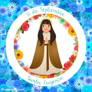Día de Santa Eugenia, 11 de septiembre