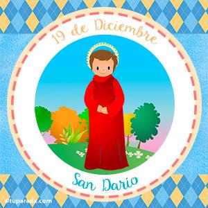 Día de San Darío, 19 de diciembre
