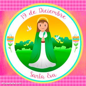 Día de Santa Eva, 19 de diciembre