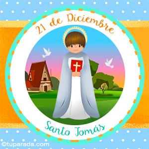 Día de Santo Tomás, 21 de diciembre