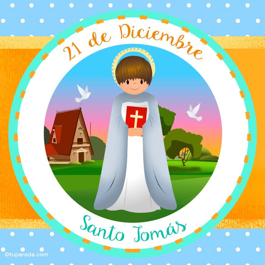 Ver fecha especial de Santo Tomás
