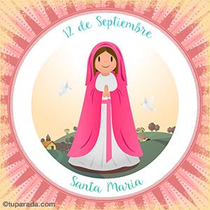 Día de Santa María, 12 de septiembre
