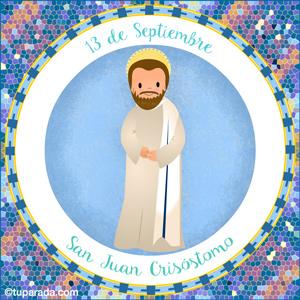 Día de San Juan Crisóstomo, 13 de septiembre