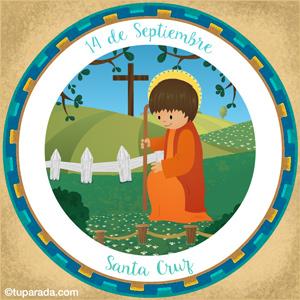 Día de la Santa Cruz, 14 de Septiembre