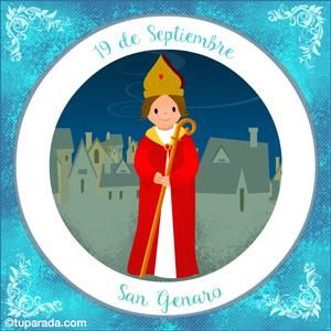 Día de San Genaro, 19 de septiembre