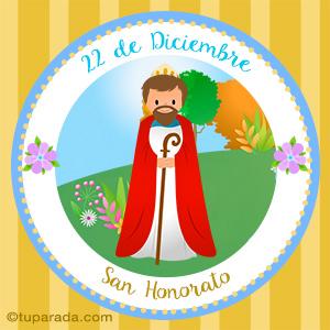 Día de San Honorato, 22 de diciembre