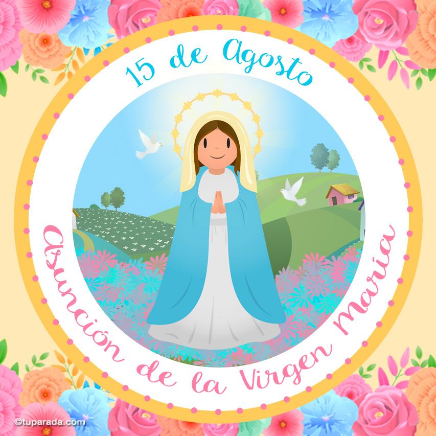 Ver fecha especial de Asunción de la Virgen