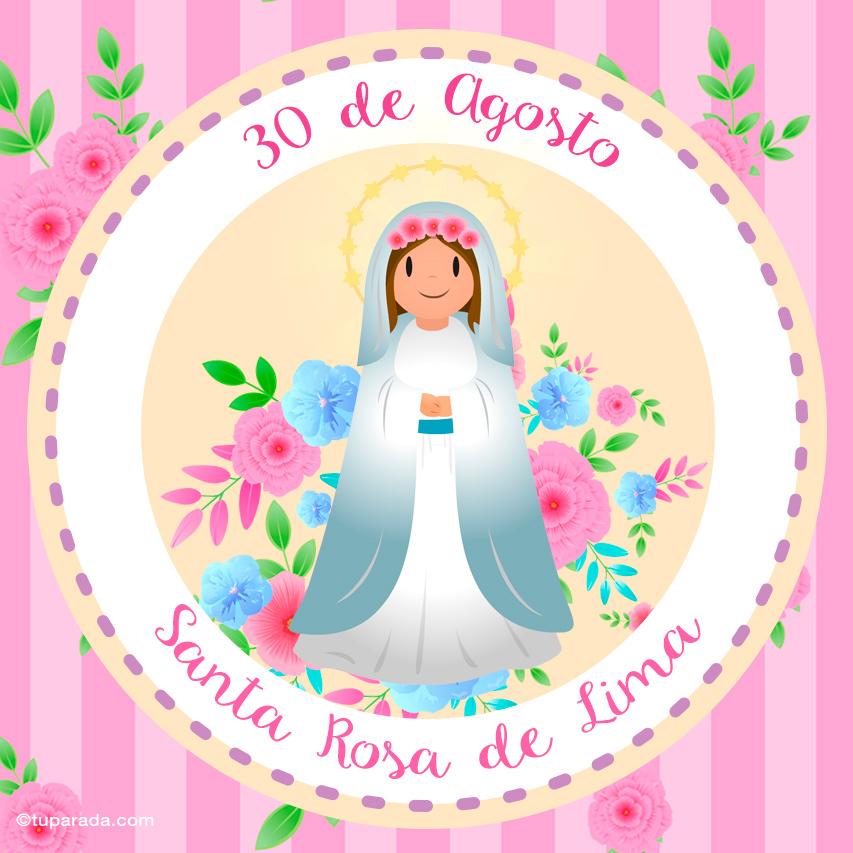 Ver fecha especial de Santa Rosa de Lima