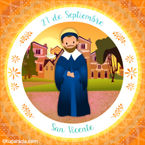 Día de San Vicente, 27 de septiembre