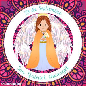 Día de San Gabriel Arcángel, 29 de septiembre