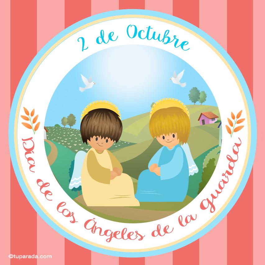 Ver fecha especial de Día de los Ángeles Custodios