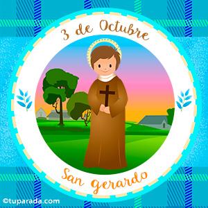 Día de San Gerardo, 3 de octubre