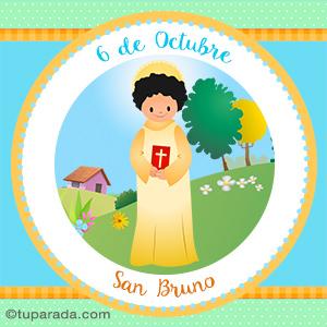 Día de San Bruno,  6 de octubre