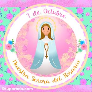 Día de Nuestra Señora del Rosario, 7 de octubre