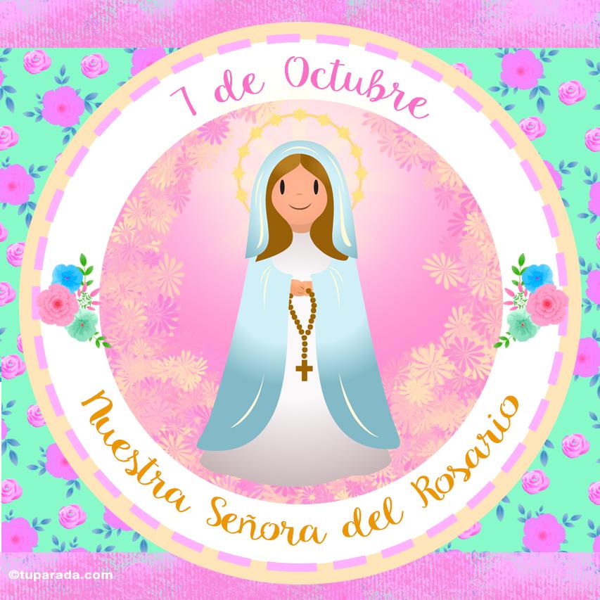 Ver fecha especial de Día de Nuestra Señora del Rosario