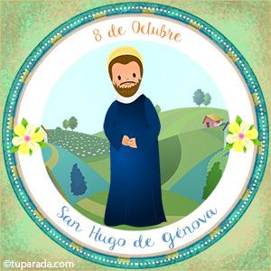 Día de San Hugo de Génova, 8 de octubre