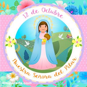 Día de Nuestra Señora del Pilar, 12 de octubre