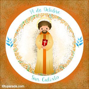 Día de San Calixto, 14 de octubre