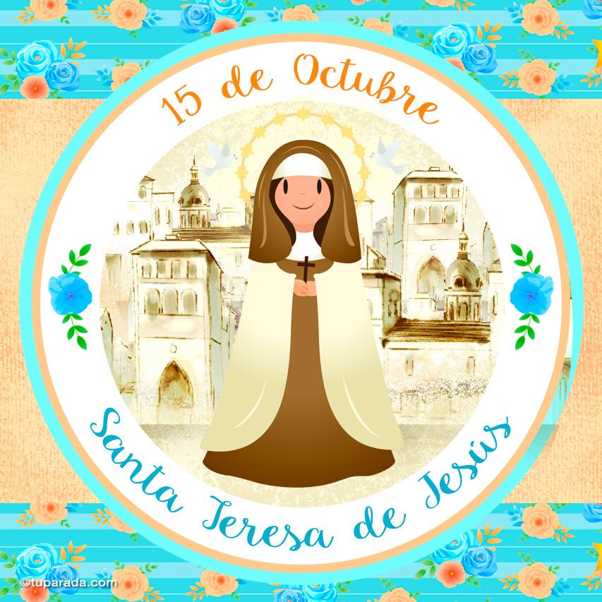 Ver fecha especial de Santa Teresa de Ávila