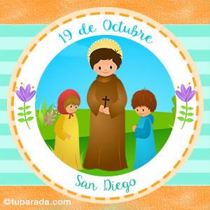 Día de San Diego, 19 de octubre