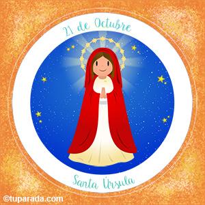 Día de Santa Úrsula, 21 de octubre