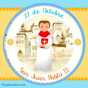 Día de San Juan Pablo II, 22 de octubre