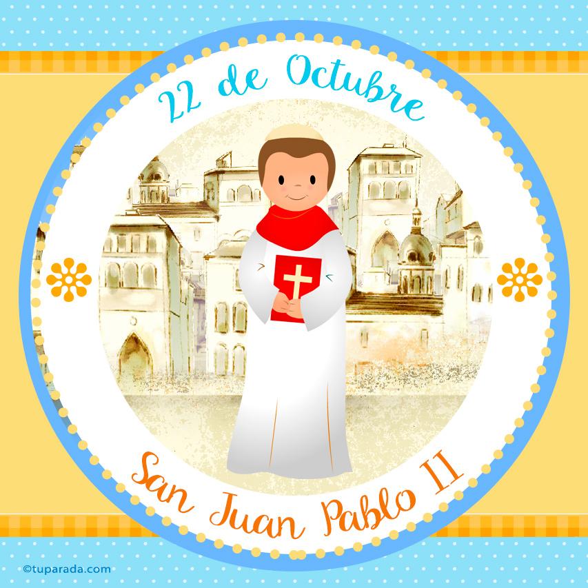 Ver fecha especial de San Juan Pablo II