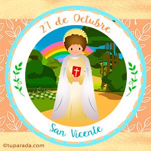 Día de San Vicente, 27 de octubre