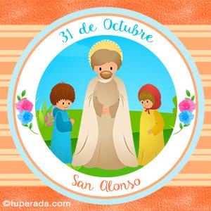 Día de San Alonso, 31 de octubre