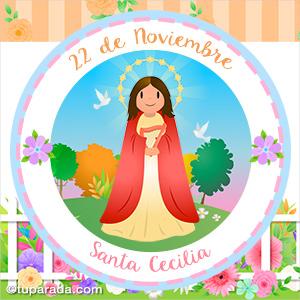 Día de Santa Cecilia, 22 de noviembre