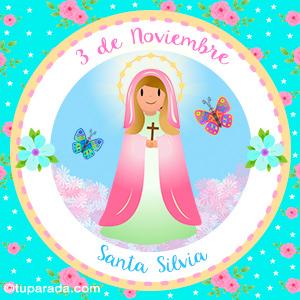 Día de Santa Silvia, 3 de noviembre