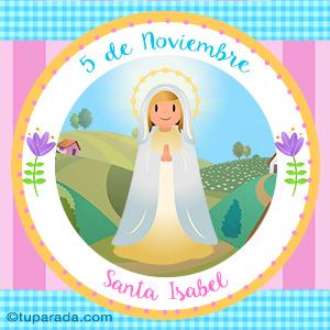Día de Santa Isabel, 5 de noviembre