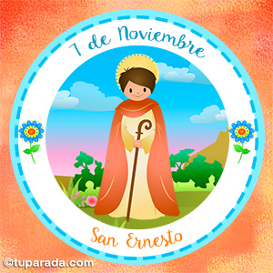 Día de San Ernesto, 7 de noviembre