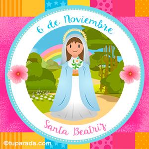 Día de Santa Beatriz, 6 de noviembre