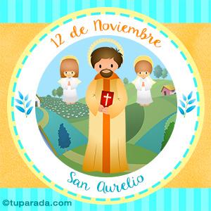 Día de San Aurelio, 12 de noviembre